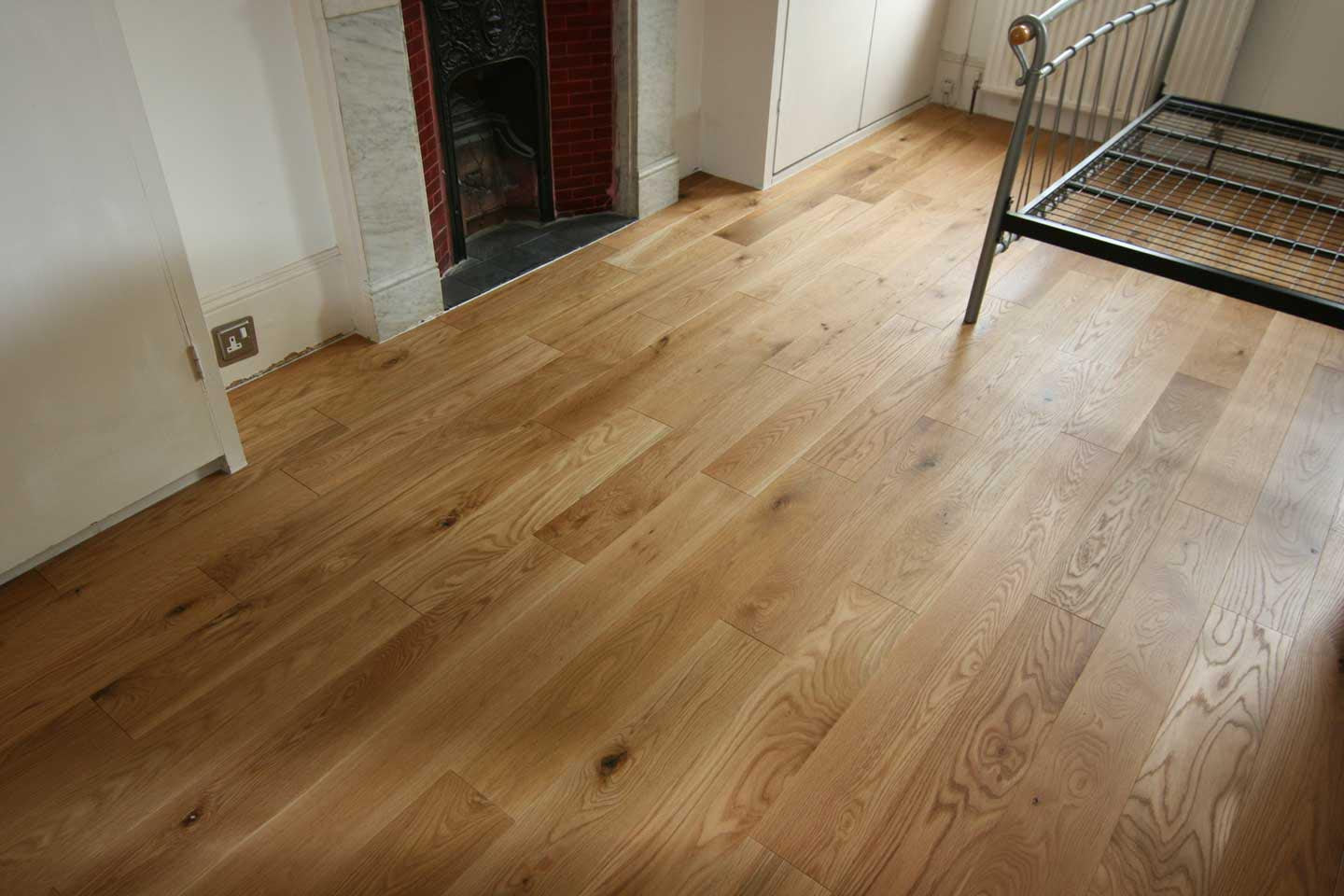 Fitted wood flooring examples for Engineered oak flooring