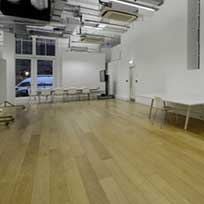 Prime Lacquered Oak in KPF Architects Reception and Meeting Area