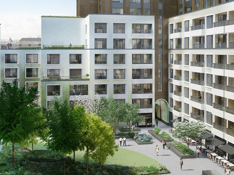 Rathbone Square project on Oxford Street