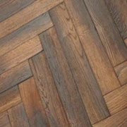 Antique Fumed Oak Parquet TW-E956